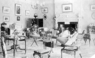 Inside New Place: the Drawing Room