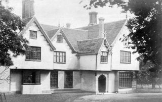 Upminster Hall, around 1900.