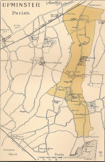 Upminster parish 1881