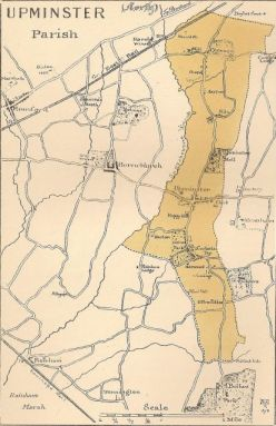 Upminster parish 1881