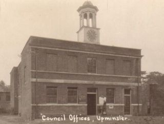Clockhouse - c.1920s after it was bought by Upminster Parish Council