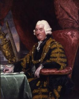 Sir James Esdaile (1714-1793) by Sir Joshua Reynolds