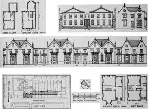 Plans for Addison Road, Kensington