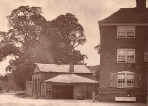 Bell Inn and smithy 1880