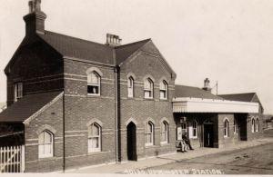 Upminster Station, opened 1885.
