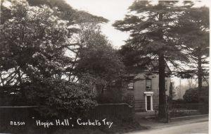 Hoppy Hall & Cedar tree, early 1920s