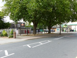 Royal Mail Sorting Office, from Corbets Tey Road