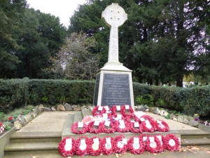 Upminster War Memorial 11/11/2015