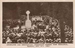 Unveiling of Upminster War Memorial 9121