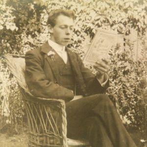 Ernest Moore, killed in action 26 Nov 1918.