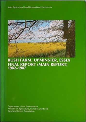 Bush Farm Final Report 1987 cover