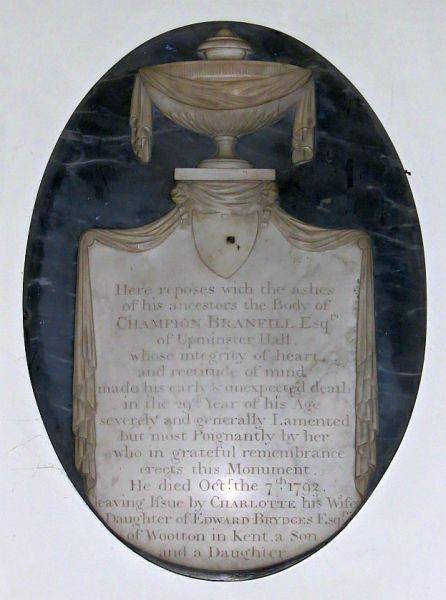 Branfill Memorial 1792a